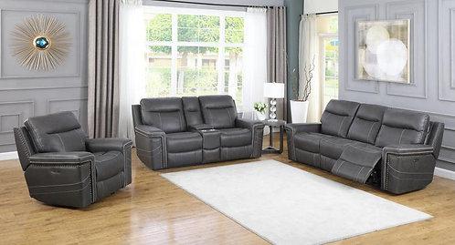 603514pp Dual Power Sofa & Loveseat
