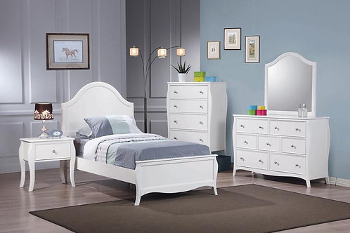 400561f 4pc Full Bedroom Set