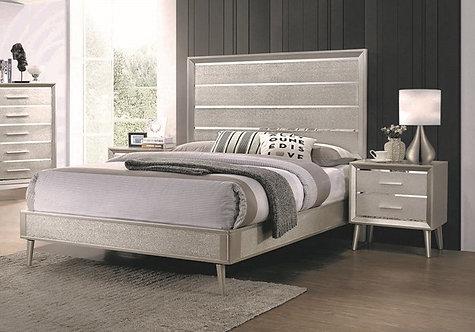 222701 Mid Century Bed