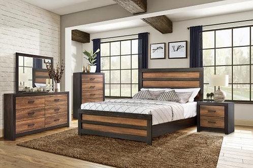 223451 Rustic Bed