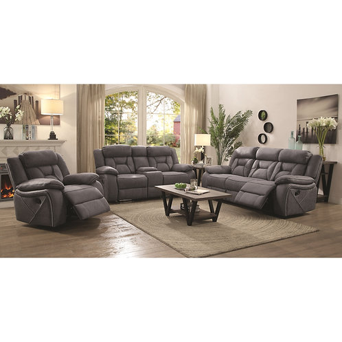 602261 2pc Sofa & Loveseat Recliners
