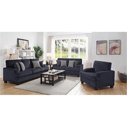 508391 2pc Sofa & Loveseat