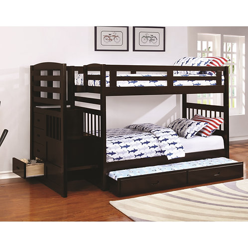 460362 Twin & Twin Bunk Bed