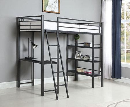 400961 Twin workstation Loft bed