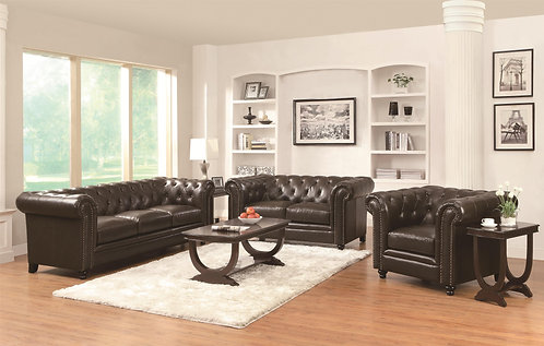 504551  2pc Sofa & Loveseat