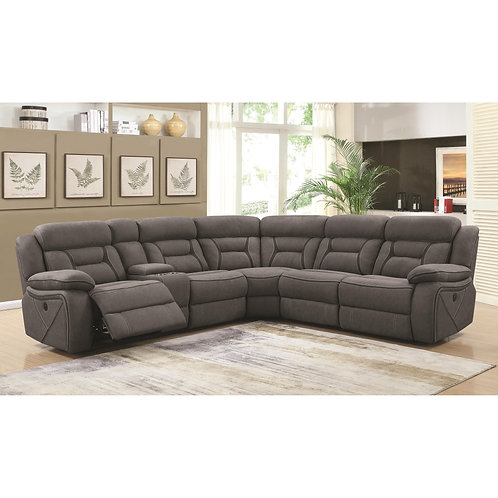 600370  Sectional Recliners