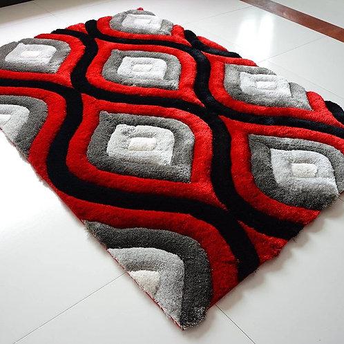 TD881B4 Black red white
