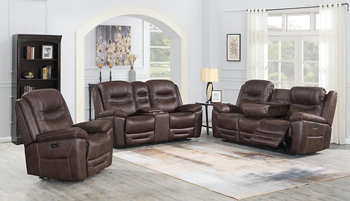 603331pp Dual Power Sofa & Loveseat