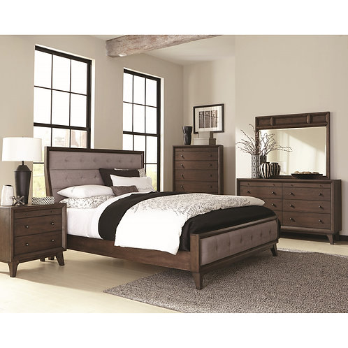 B259-10 Upholstered Bed
