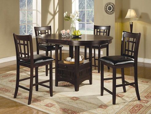 102888 Counter Height Table w/ 4 Chairs