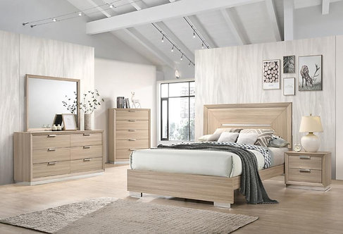 222591 Contemporary Bed