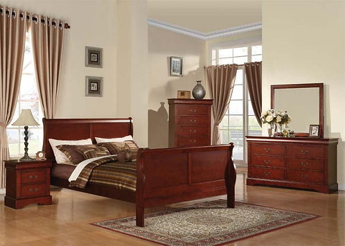 222411 Sleigh Bed