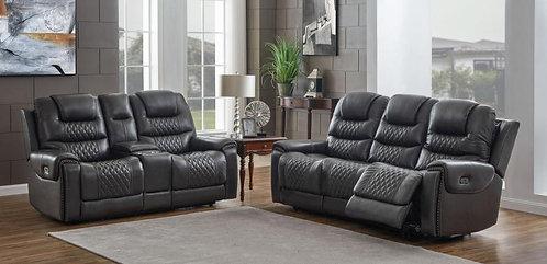 650407pp Dual Power  Sofa & Loveseat