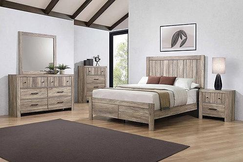 223101 Rustic Bed