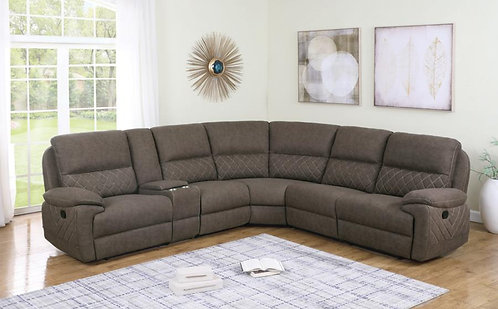 608980 6pc Motion Sectional