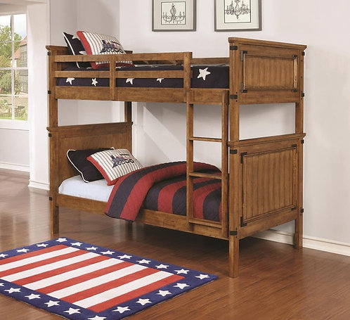 460116 Twin & Twin Bunk Bed