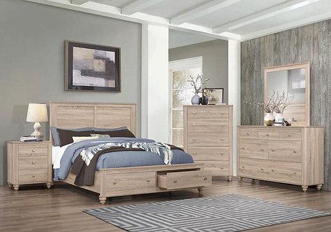 205460 Storage Bed
