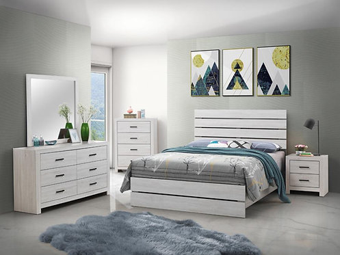 207051 Panel Bed