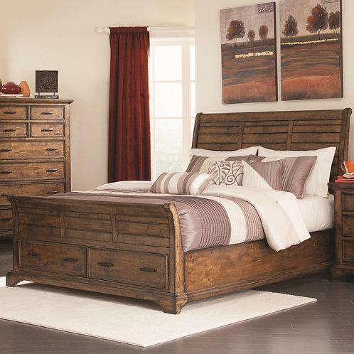 203891 Sleigh Bed w/ Storage