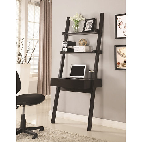 801373 Wall-Leaning Writing Ladder Desk