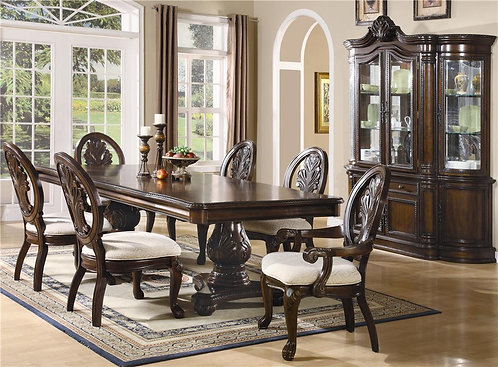 101037 Traditional  Dining Set