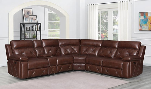 603440PP 6pc Dual Power Sectional