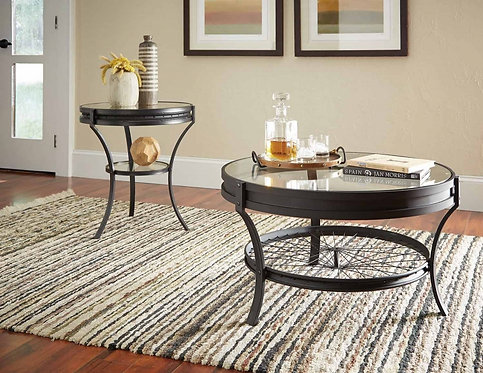 705218 Industrial Coffee Table