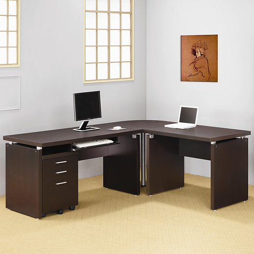 800891 Contemporary L Shaped Desk