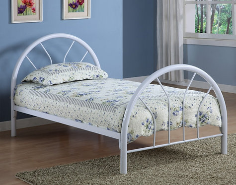 2389W Twin Metal Bed