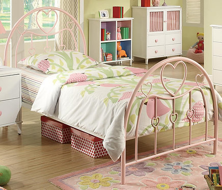 400571 Twin Metal Bed