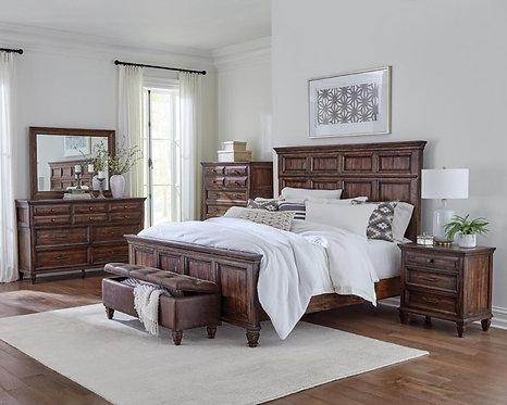 223071 Rustic Bed