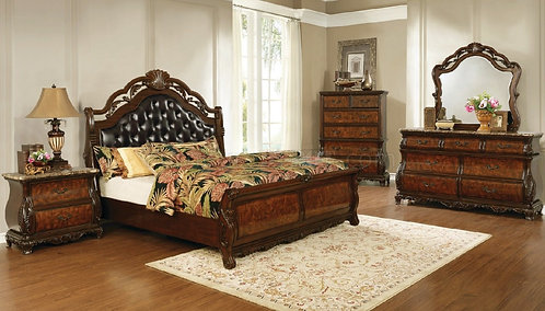 222751 European Traditional Bed