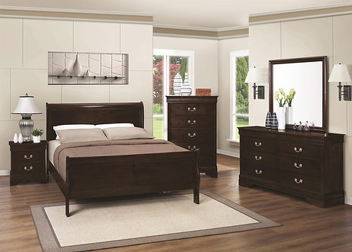 202411 Panel Sleigh Bed