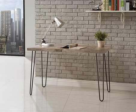 800927  Industrial Style Writing Desk