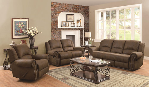 650151  2pc Sofa & Loveseat Recliners