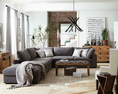 551324 6pc Sectional