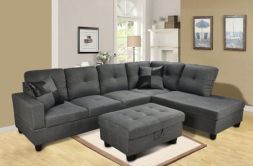 F118 Sectional w/ Ottoman