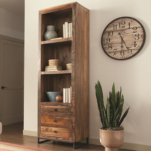 800819 Accent Cabinets Bookcase