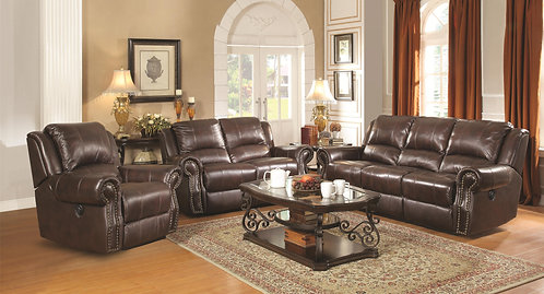650161 2pc Sofa & Loveseat Recliners