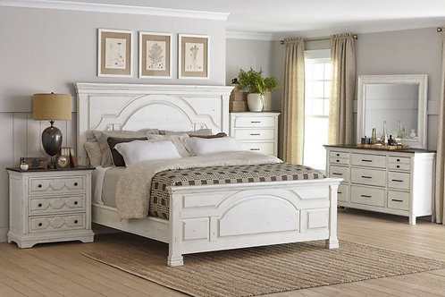 206461 Rustic Farmhouse Bed
