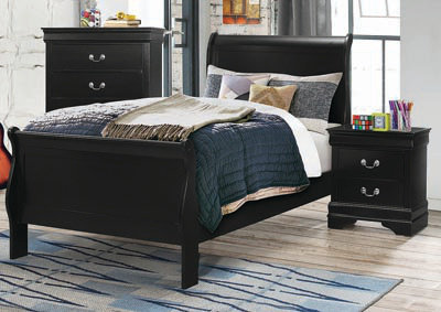 212411 Sleigh Panel Bed
