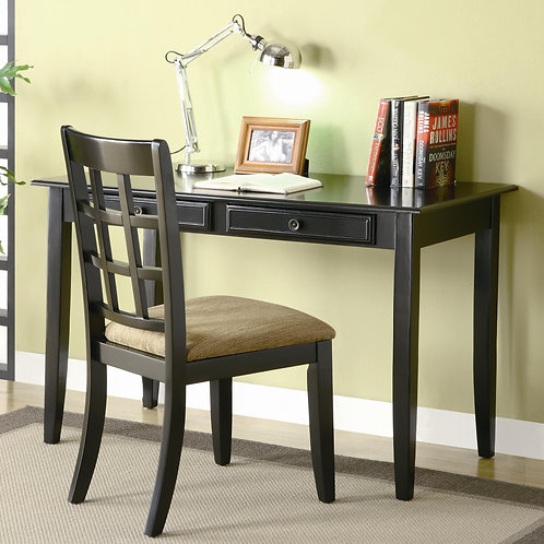 800779 2pc Writing Desk