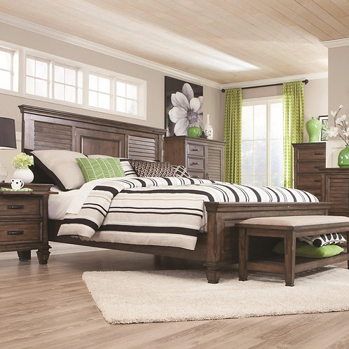 200971 Panel Bed