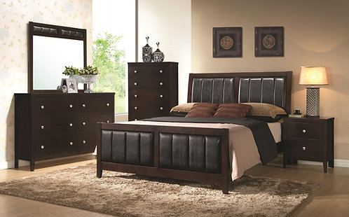202091 Upholstered  Bed