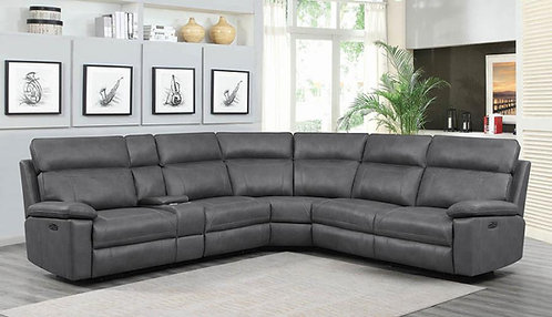 603270PP 6pc Dual Power Sectional