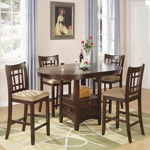 100888N Counter Height Dining Set