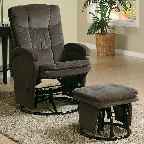 600159 Recliners with Ottomans