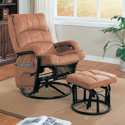 650005 Recliner with Ottoman