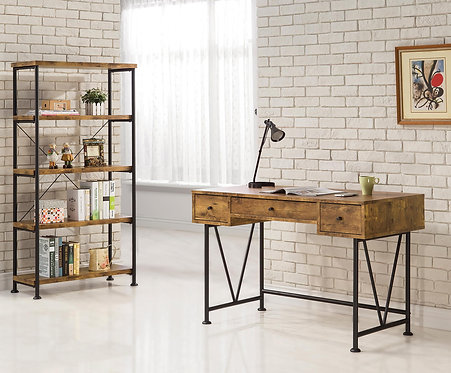801541 Industrial Style Writing Desk