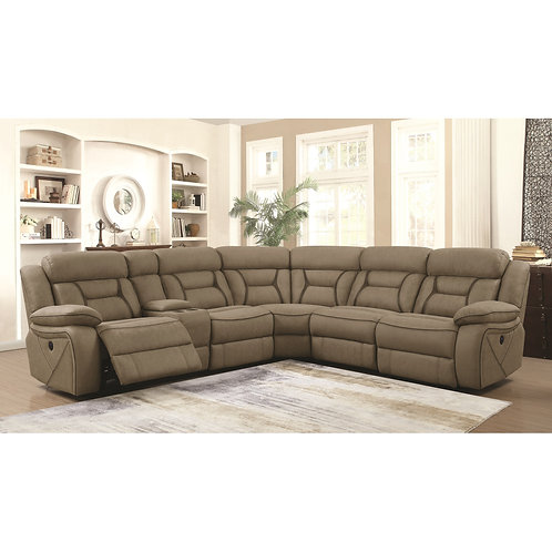 600380 Sectional Recliners
